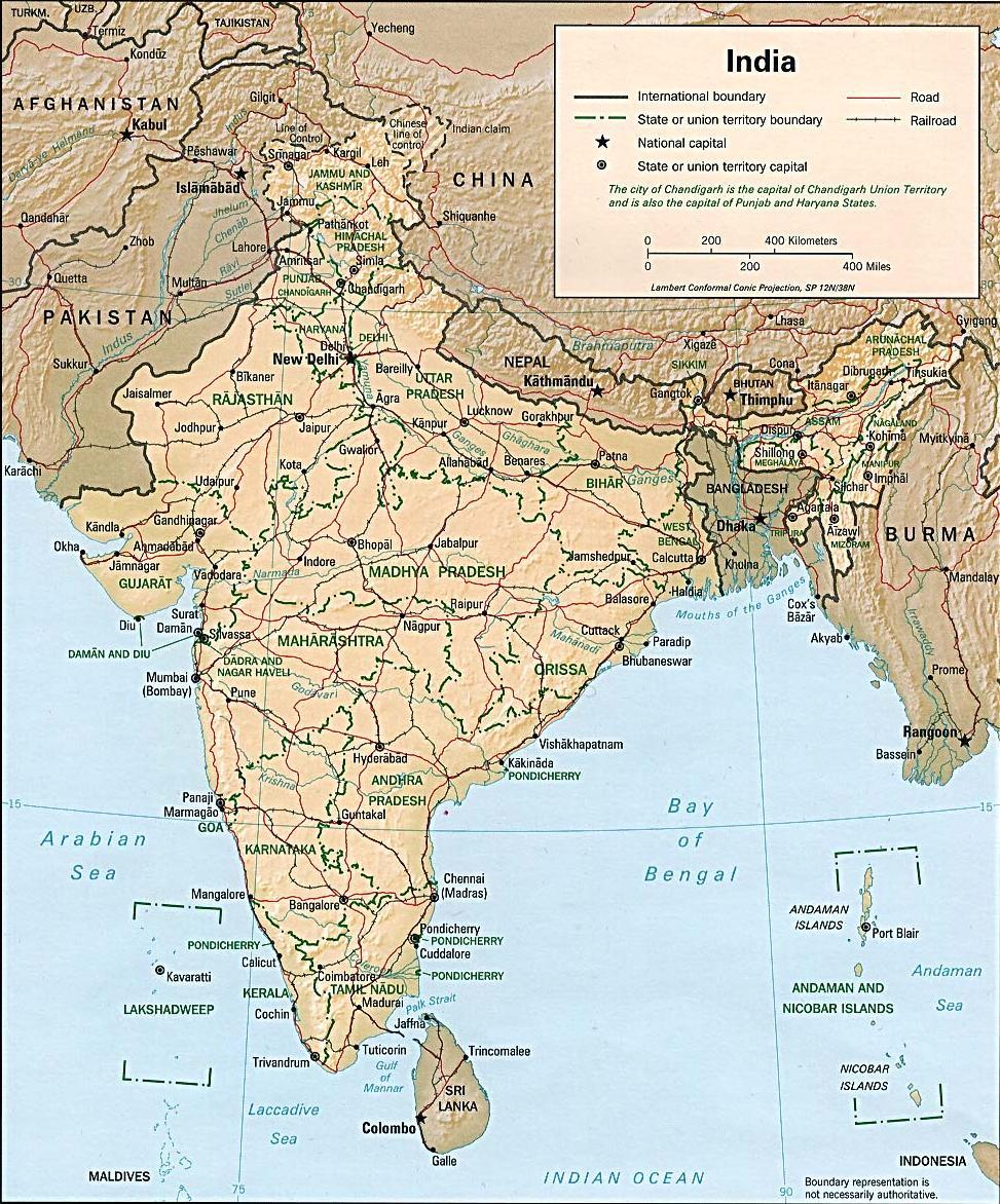 孟加拉国地图中文版